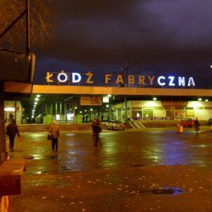 Gdy zamknięto dworzec Łódź Fabryczna. Początki blogu pasażera...