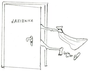 problem łazienki