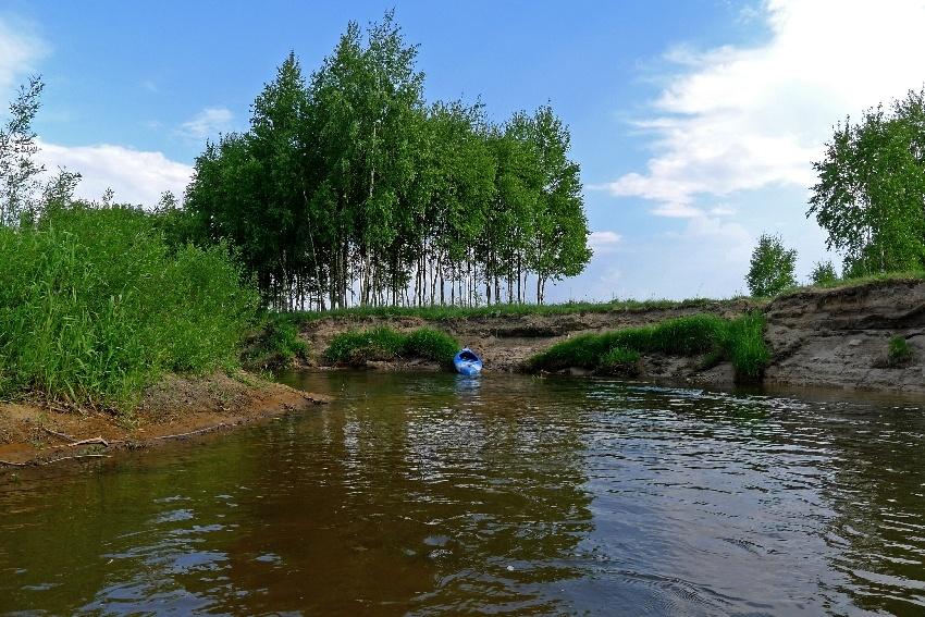Na spływie kajakowym