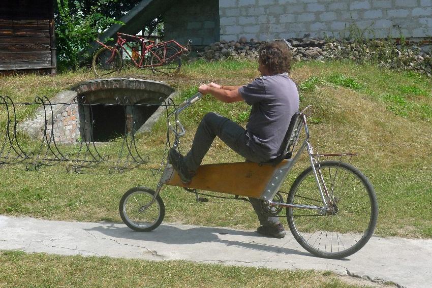 Gołąb muzeum rowerow