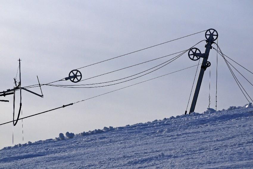 na stoku narciarskim