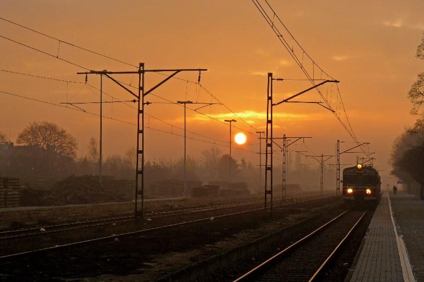 podróż koleją