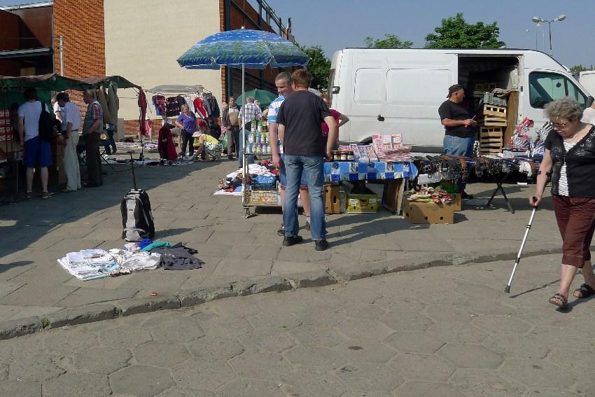 Rynek Bałucki w Łodzi
