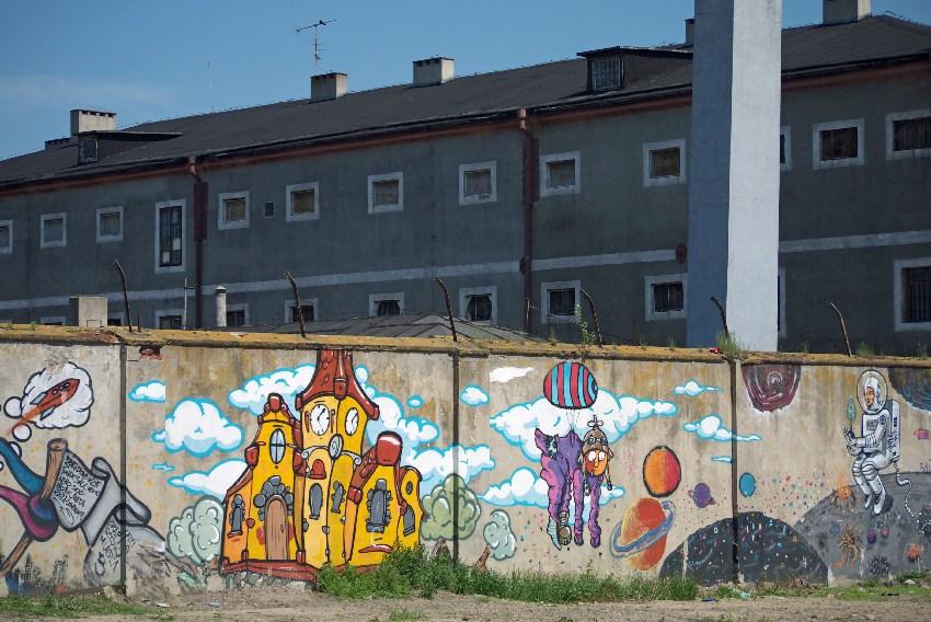 Łęczyca murale