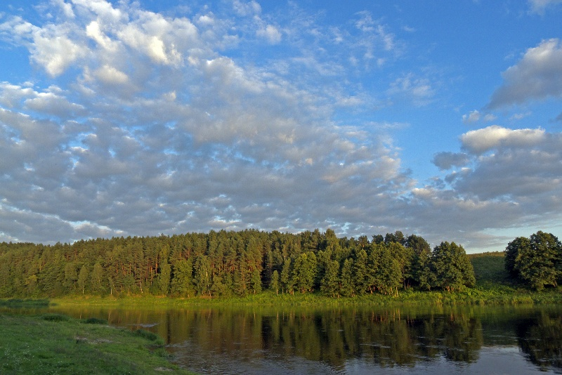 Spływ na Litwie