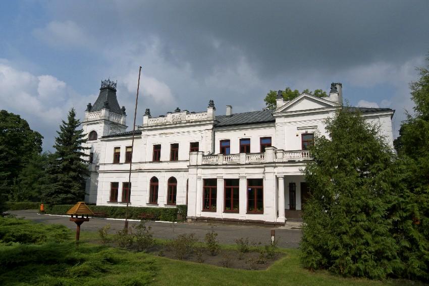Rowerami z Sieradza do Łodzi przez Męcką Wolę