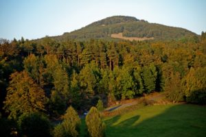 Góry jesienią. Czeska Szwajcaria po raz pierwszy