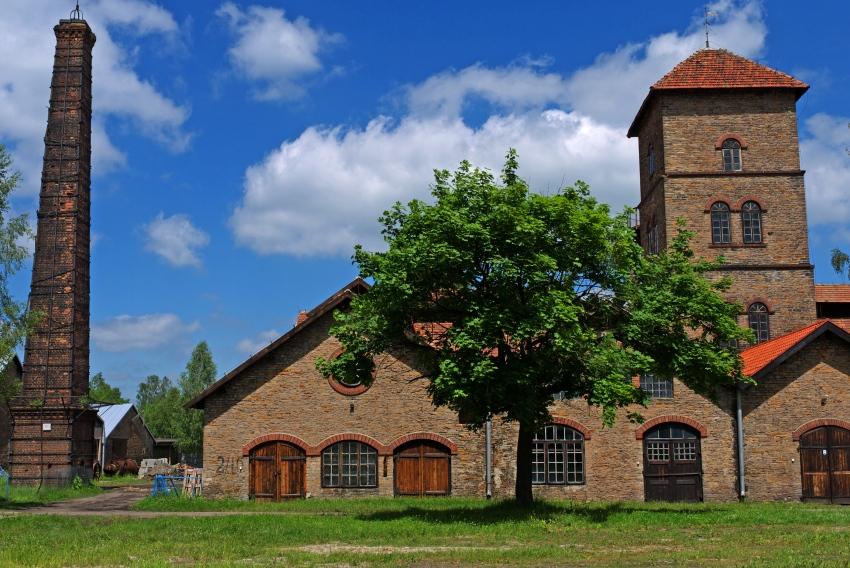 Chlewiska - huta. Staropolski Okręg Przemyslowy