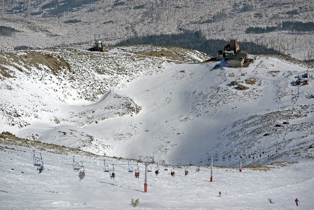 zima na Słowacji