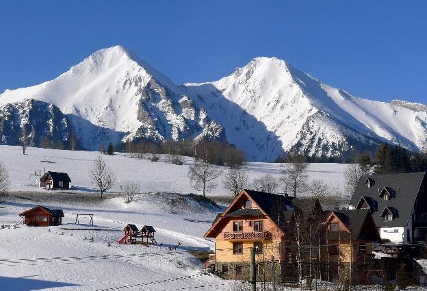 Panorama tatry Bielskie