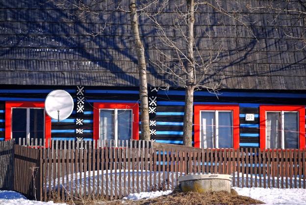 Kolorowa chata - Ždiar