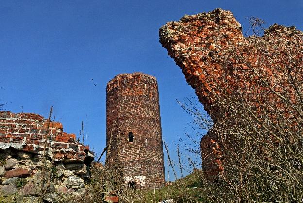 Bolesławiec - ruiny zamku