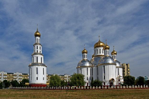 Białoruś. Współczesna cerkiew w Brześciu
