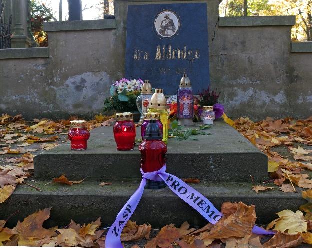 Grobowiec Iry Aldrige'a