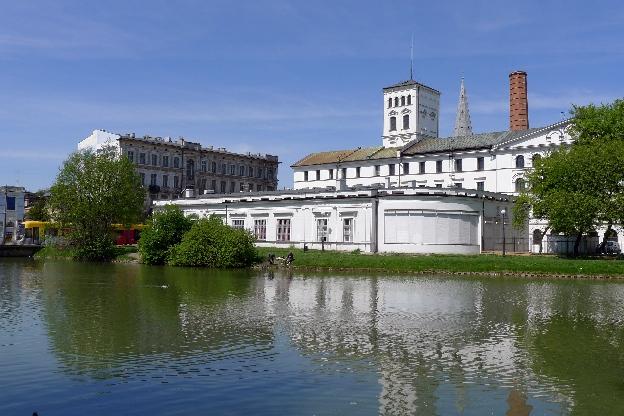 Biała Fabryka. Zwiedzanie Łodzi