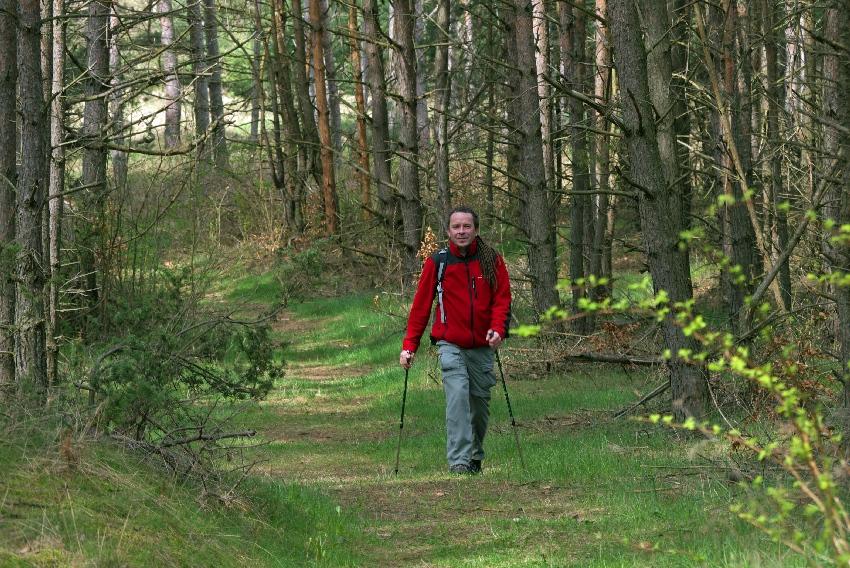 Nordic walking - kijowa pogoda fot.: Dawid Lasocinski