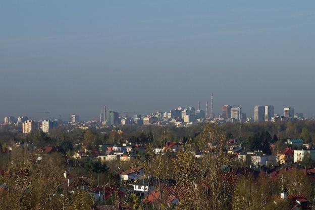 Zwiedzanie Łodzi - Widok z Górki Śmieciowej