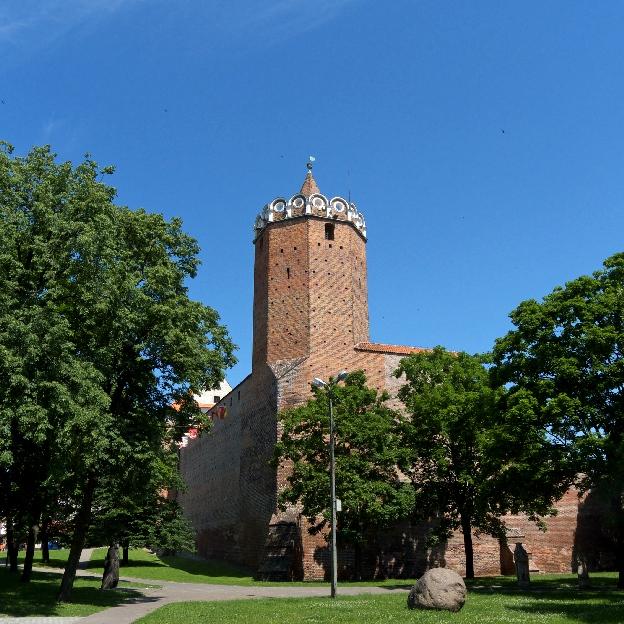 Zamek w Łęczycy Wokół Łodzi