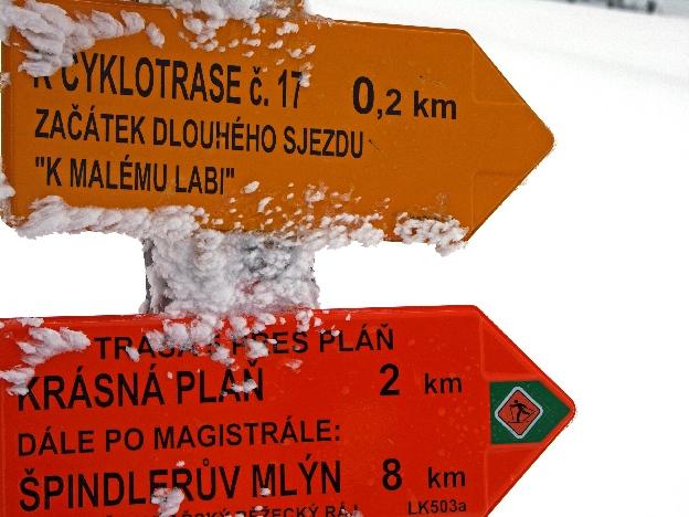 Zimowe szlaki narciarskie w Czechach