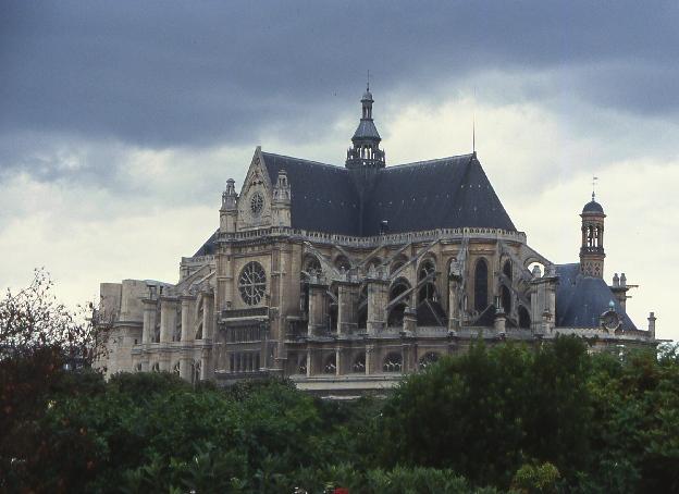 św.Eustachy Paryż