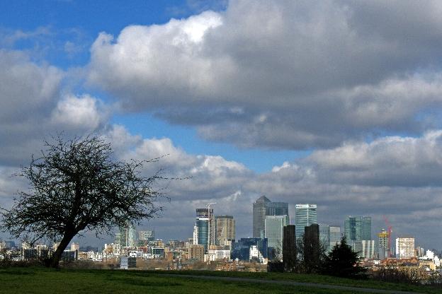 Dlaczego Londyn panorama