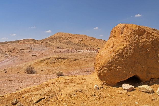 Izrael, Negew, kolorowe piaski