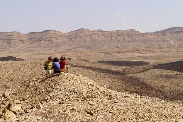Izrael, pustynia, Negew