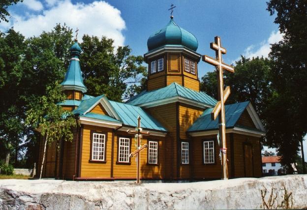 Zubacze cerkiew Podlasie