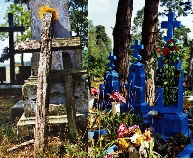 kolorowy cmentarz Zubacze Podlasie