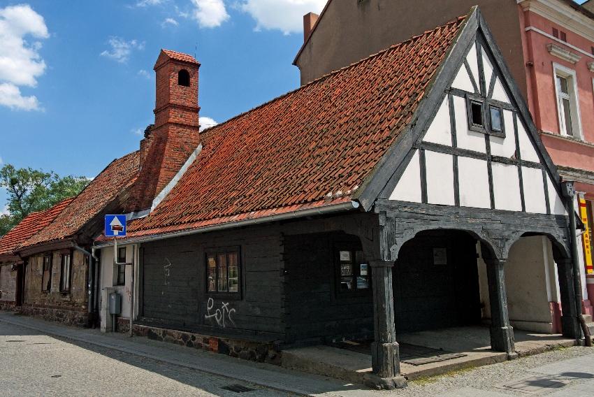 dom podcieniowy Golub-Dobrzyn