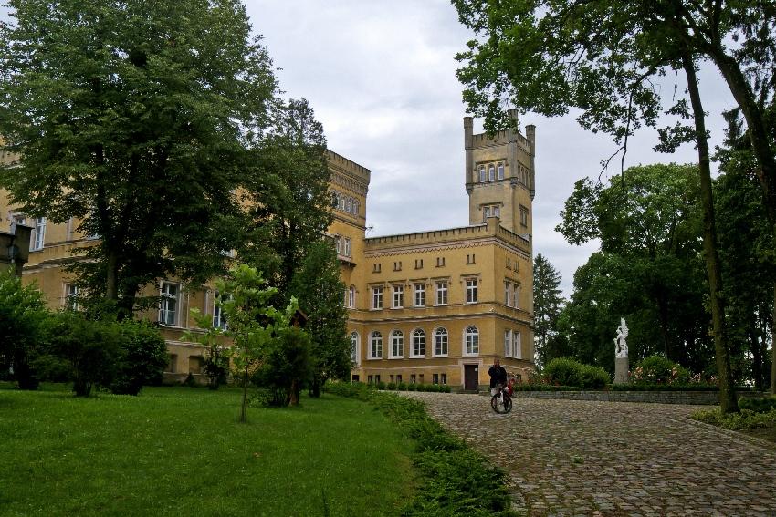 jablonowo zamek