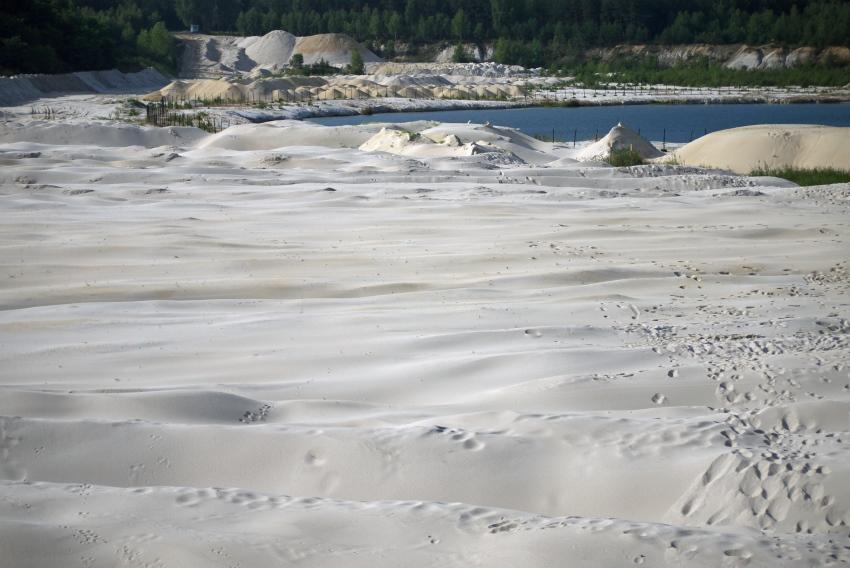 kopalnia piasku biala gora