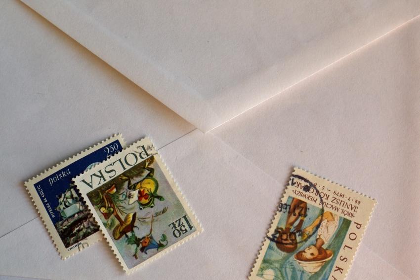 koperta znaczki