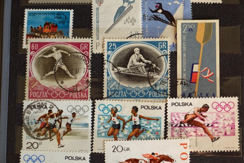 znaczki klaser