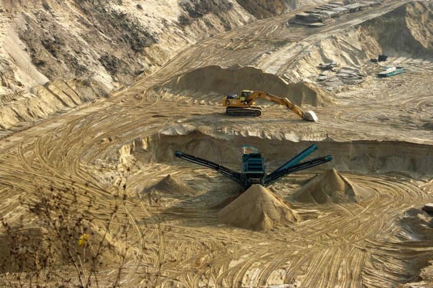Stoki kopalnia piasku