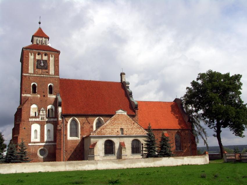 Kościół w Nieszawie poza utartymi szlakami