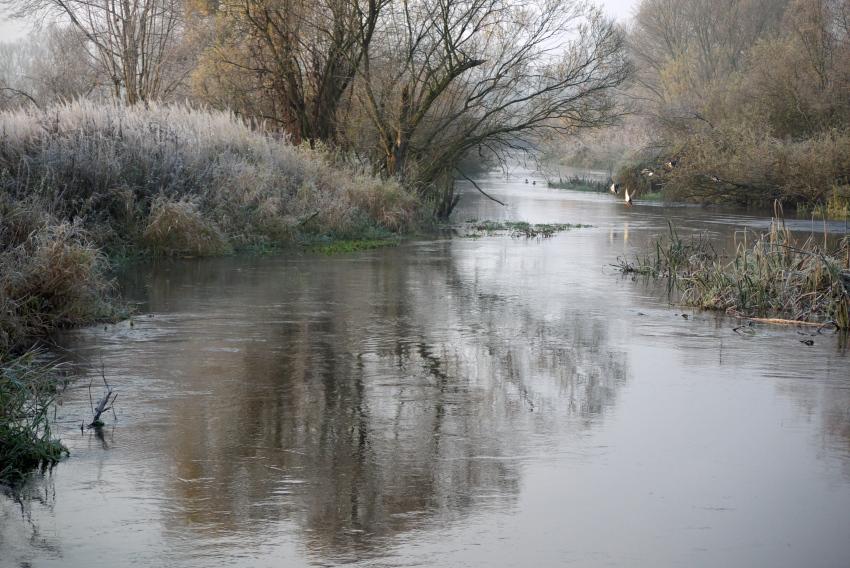 zimowy spływ