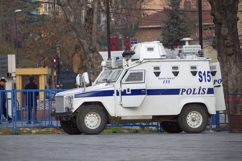 Turcja policja