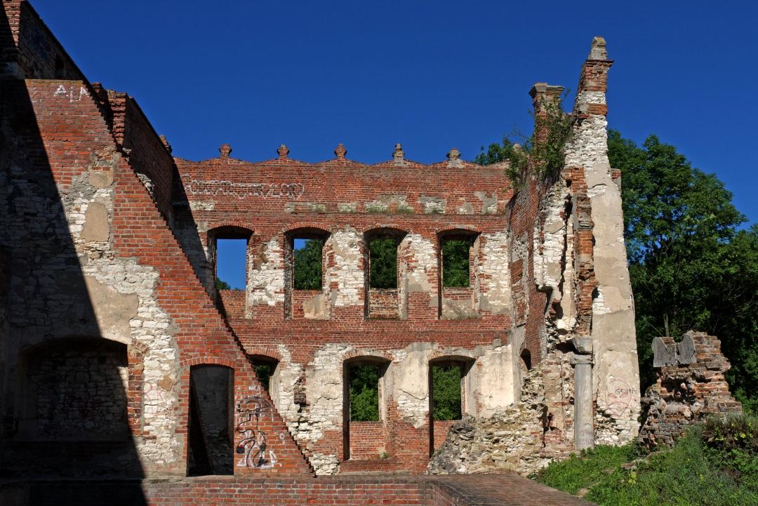 zamek Krupe