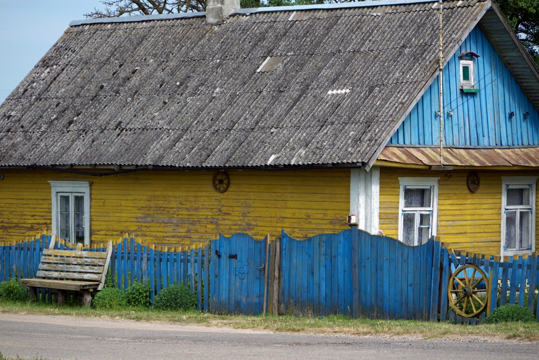 wieś Białoruś