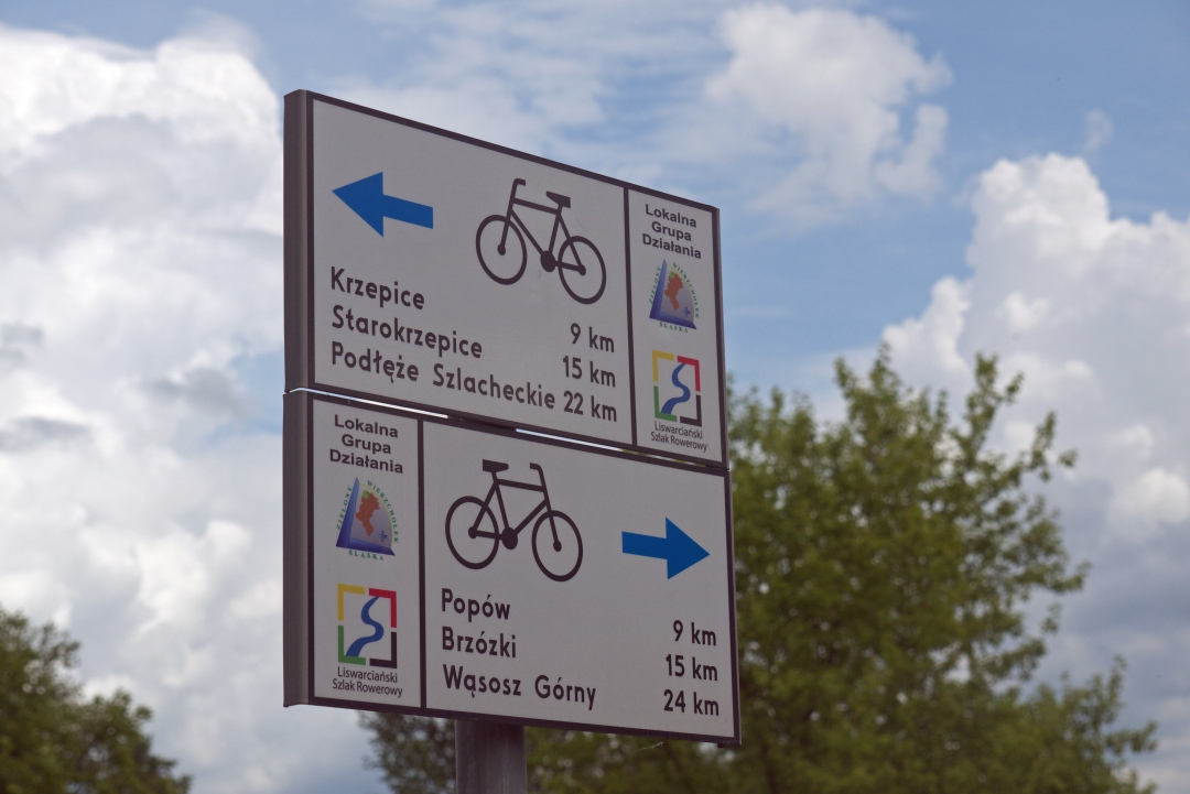 rowerowy szlak liswarty