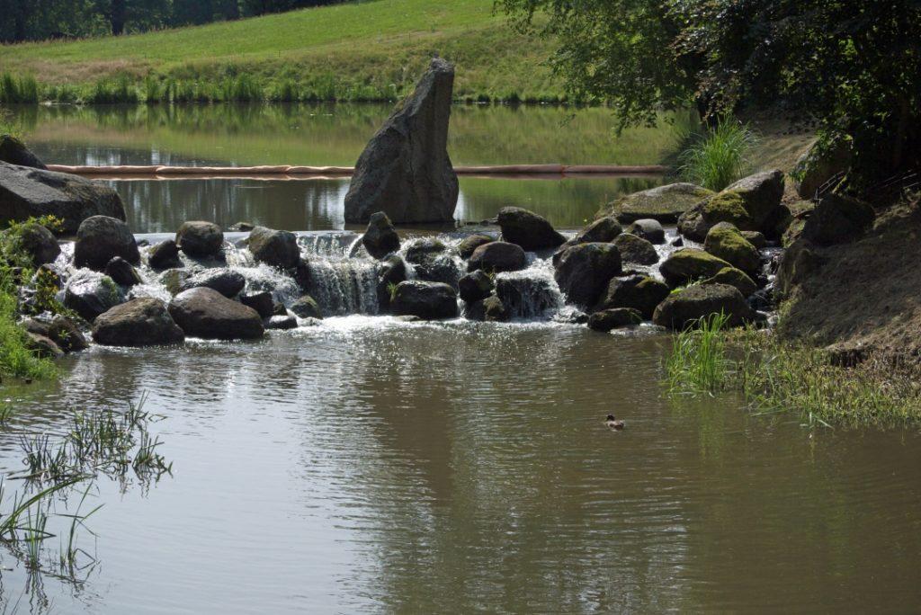 Jezioro Dębów Park Mużakowski