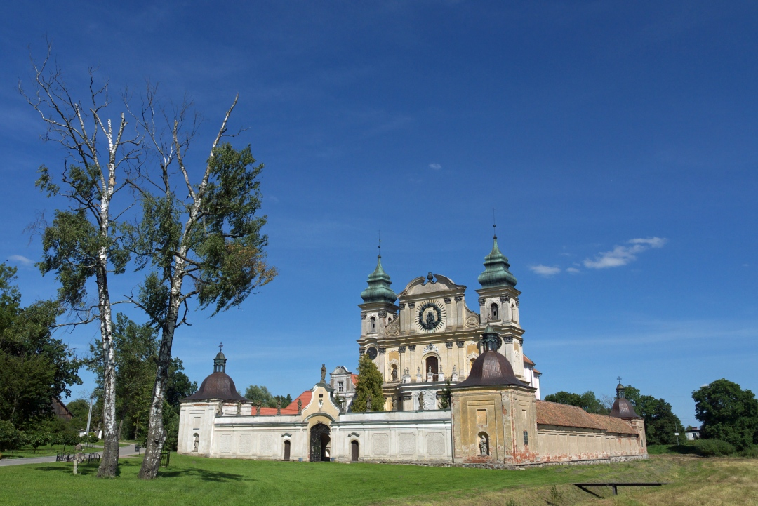 Klasztor w Krośnie koło Ornety
