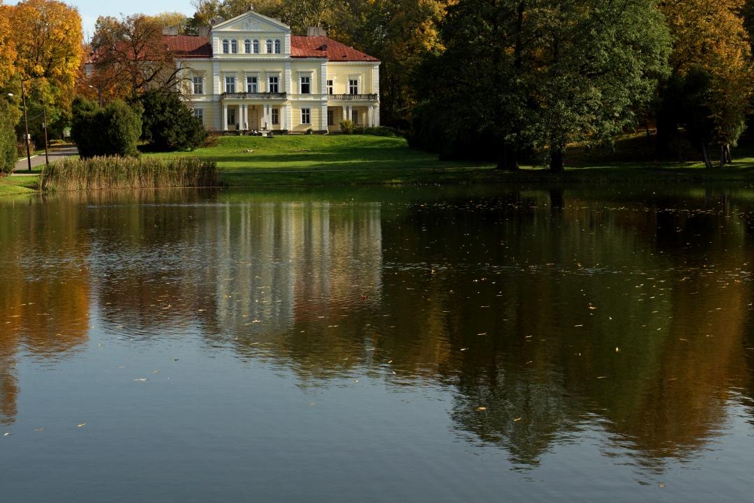 Zloty Potok Pałac Raczyńskich