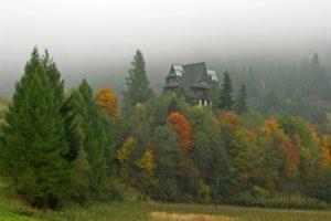 Jesień w Pieninach. Samotna wędrówka górskimi szlakami