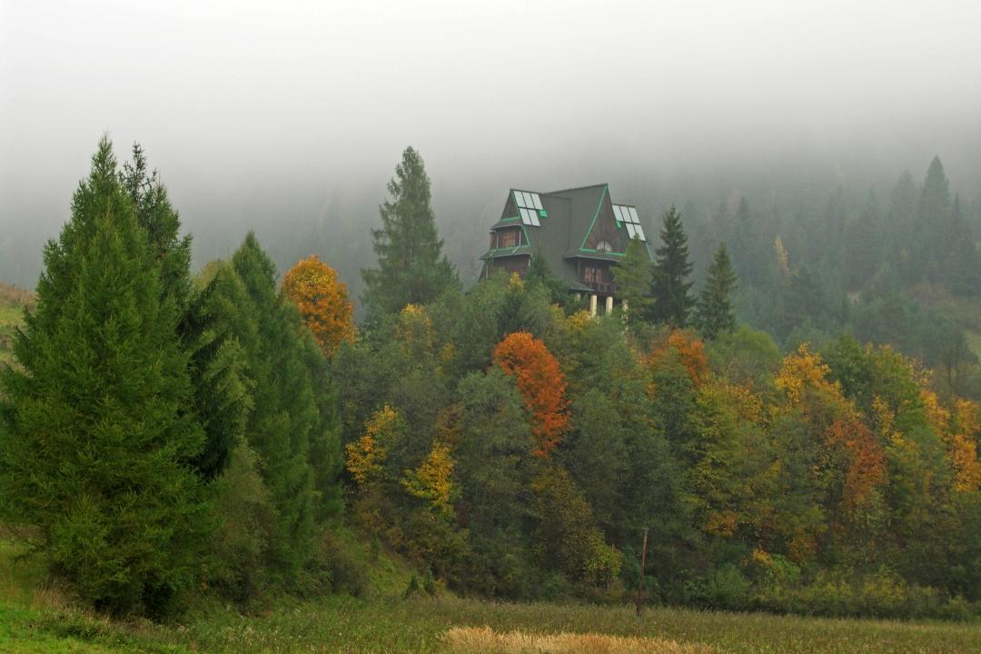 Read more about the article Jesień w Pieninach. Samotna wędrówka górskimi szlakami