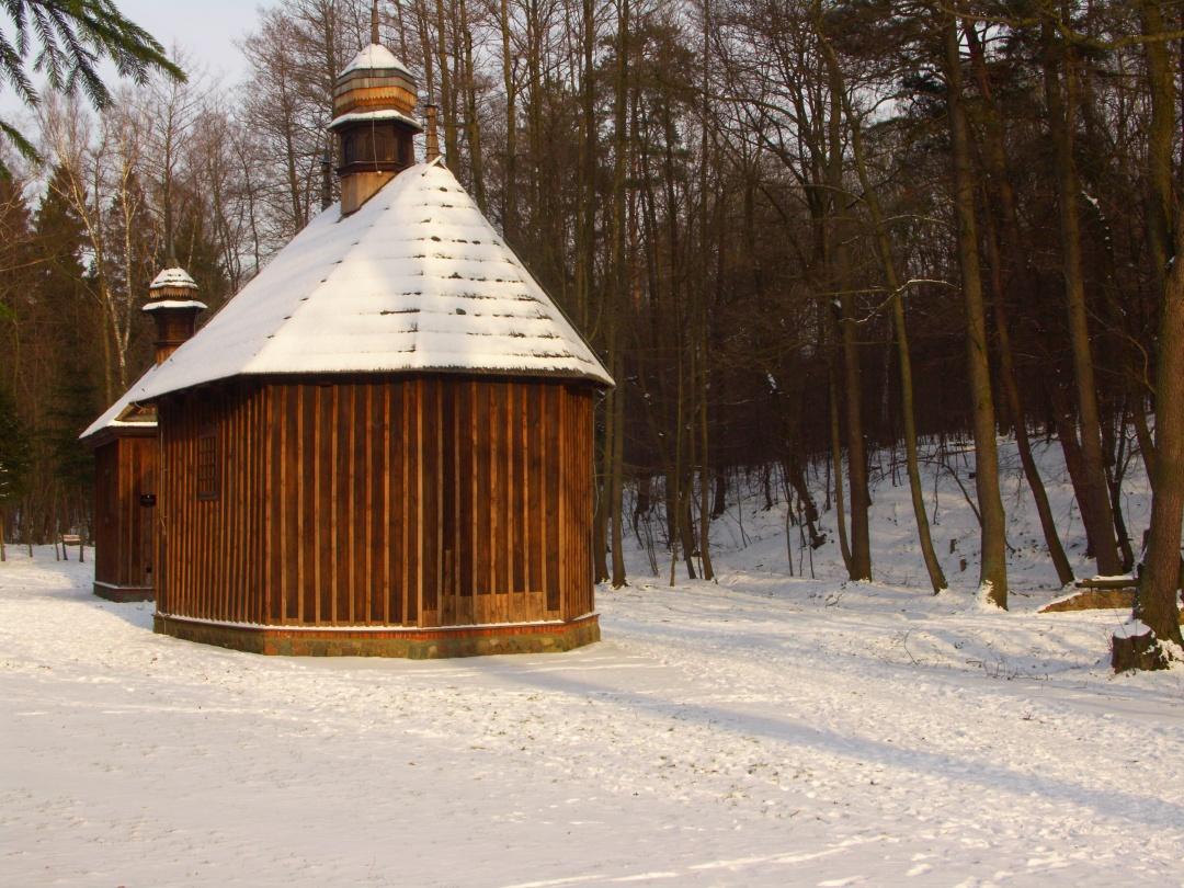 Kapliczki w Łagiewnikach