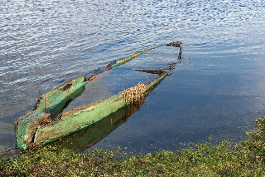 Biebrza i łódka
