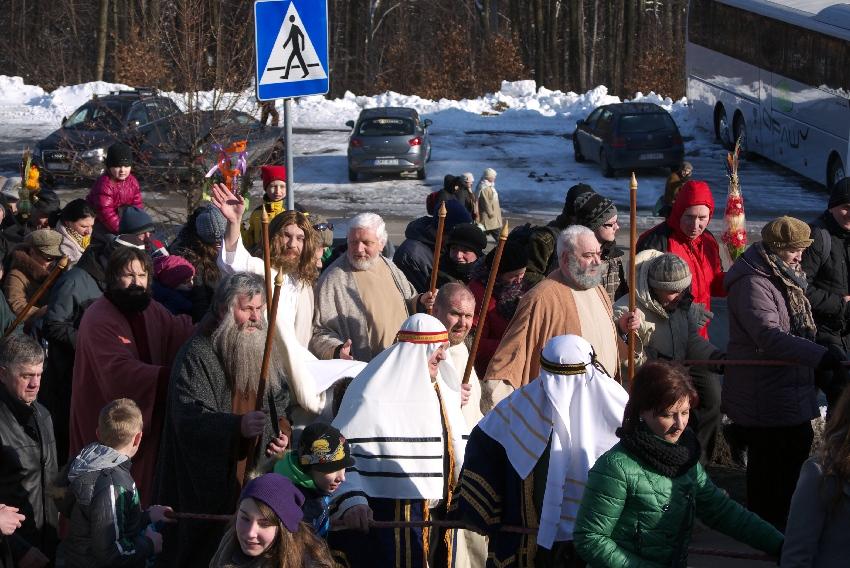 Tradycyjne obchody Niedzieli Palmowej. Kalwaria Zebrzydowska