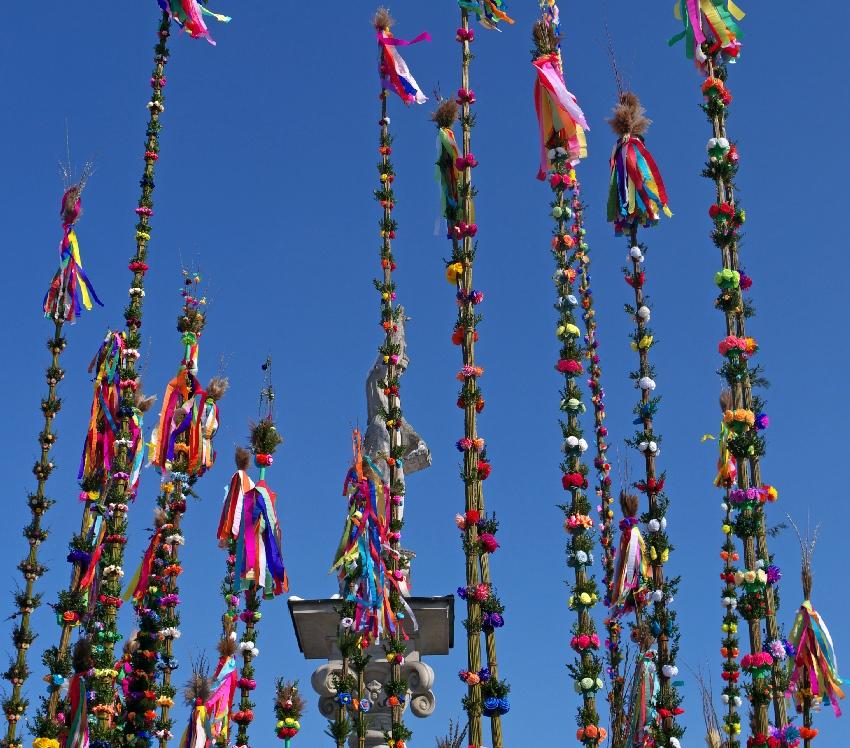 Tradycyjne obchody Niedzieli Palmowej w Lipnicy Murowanej